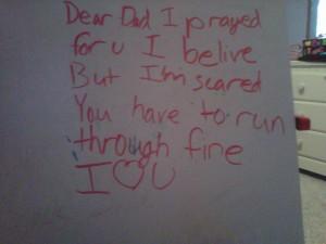 fear letter
